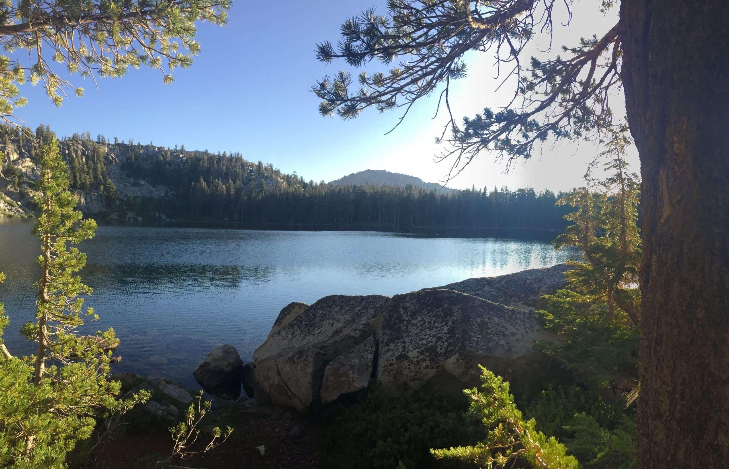 Second Day, Sunrise Lake