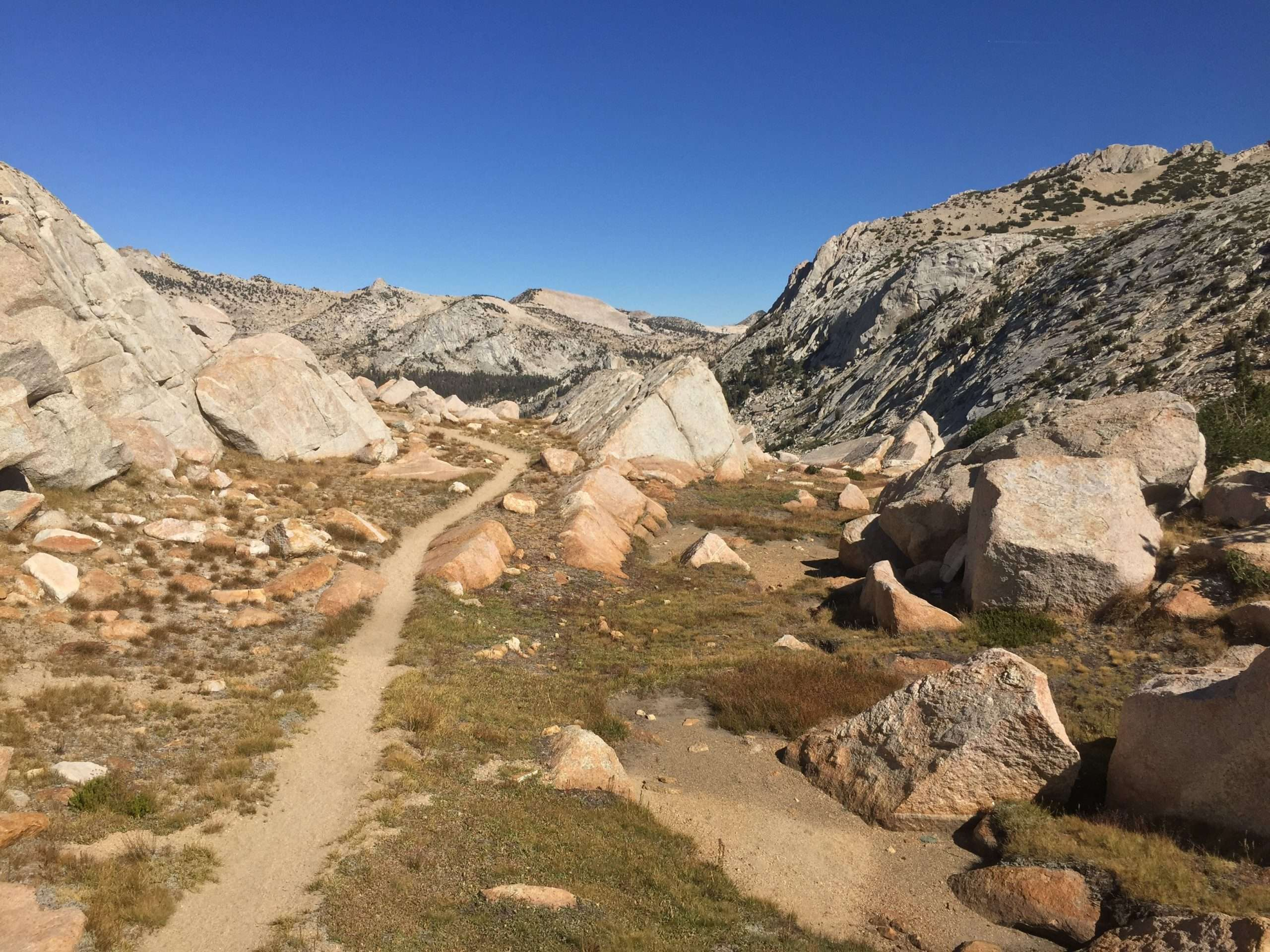 Day Four, Vogelsang Pass